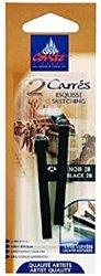 Crayons CONTE 2 Pk Black
