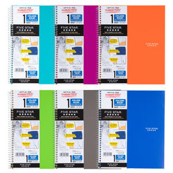 MEAD Five Star 1 subject Notebook