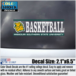 Missouri Southern Basketball Decal
