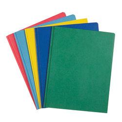 ROARING SPRING Gusset Paper Pocket Folder Assorted Colors