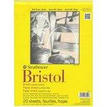 "Art Drawing Pad STRATHMORE Bristol Smooth 300 Series 9""X12"" 20Sheets"