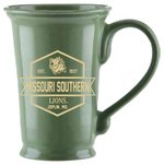 MSSU Green Ceramic Mug