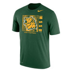 MSSU Lion Football Green Tee