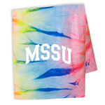 "Blanket MVSPORT Neon Tie Dye ""MSSU"""
