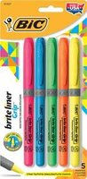 Bic Brite Liner Highlighter 5 pk