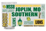 MSSU Frosted Pint Glass