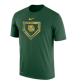 "Ss Tee NIKE Green Homeplate ""L.hd."""