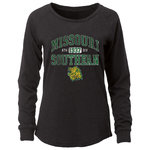 """Ladies LST OURAY Scoop Neck Black Heather """"M./Ath1937Div/S./L.hd."""""""