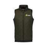 "Full Zip Vest WEATHERPROOF VINTAGE Rosin Quilted ""L.hd.MSSU/L."""