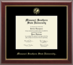 Missouri Southern Church Hill Gallery Diploma Frame