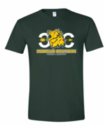 MSSU Green Cross Country Tee