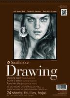 "Art Drawing Pad STRATHMORE Medium Spiral Top 9X12 "" - 24 Sheets"